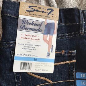 Bermuda shorts, seven 7 brand